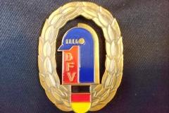 Das Bundesleistungsabzeichen des DFV in Bronze.