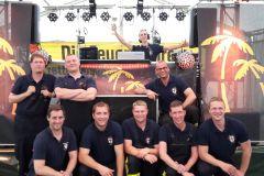 Das Verdener CTIF-Team: Mirko Bremer, Michael Knoop, Christian Tams, Torben Voigt, Christoph Grupe, Sven Hilbig, Tobias Jachmann, Daniel Teubert, Christian Stein.