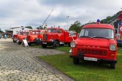 Oldtimertreffen in Aschendorf anlässlich des 25. jährigen Jubiläums des Feuerwehr-Fördervereins.