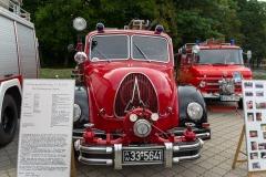 |... waren vor allem motorisierte Einsatzfahrzeuge ausgestellt.