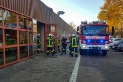 Feuerwehrkräfte vor Ort.