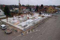 06.12.2017 - Fortlaufende Bauarbeiten am Tage nach der Grundsteinlegung.