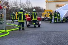 Ein dreifacher Brandschutz musste sichergestellt werden.