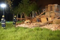 Die Trümmersuchhunde kamen während der Such- und Rettungsarbeiten mehrfach zum Einsatz.