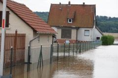 Das Wasser überflutete zahlreiche Häuser.