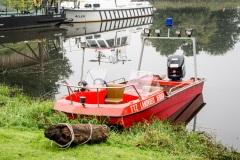 Das Mehrzweckboot der FTZ. (Feuerwehr Verden)