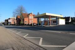 16.02.2016 - Die Grundstücke an der Lindhooper Straße vor Beginn der Bauarbeiten.