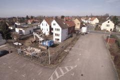 12.03.2017 - erste Arbeiten durch die Abrissfirma auf dem Grundstücken Lindhooper Straße 50 und 48.