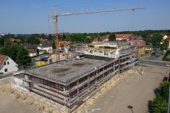 31.05.2018 - Fortschritt der Bauarbeiten.