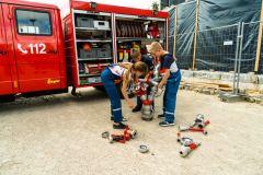 Einblicke in die Arbeit der Feuerwehr erlaubt die Ferienpassaktion am Verdener Feuerwehrhaus.