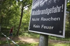 Warnung vor Waldbränden im Verdener Stadtwald.