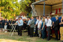 Zahlreiche Ehrengäste, darunter auch Bürgermeister Lutz Brockmann, nahmen ebenfalls am Kreisfeuertag teil.