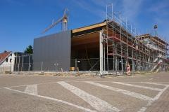 17. Juli 2018 - Fortschritt der Bauarbeiten.