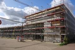 21. August 2018 - Blick auf das Gebäude von der Lindhooper Straße aus.