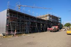 11. Oktober 2018 - Fortlaufende Bauarbeiten