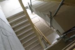11. Oktober 2018 - Blick in das Innere - Das Treppenhaus