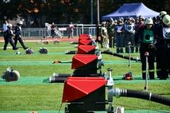 Der Wettbewerbsplatz bei den Grenzlandmeisterschaften in Pulversheim (Foto: Brinker)