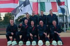 Das Team der Feuerwehr Verden: Jette Amber Brettschneider, Daniel Borchers, Steffen Wortmann, Daniel Wrede, Patrick Feuße, Tobias Jachmann, Michael Knoop, Torben Voigt, Daniel Teubert (von oben links).