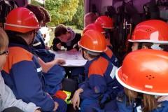 Kartenkunde stand bei der JF Hönisch-Hutbergen auf dem Dienstplan.