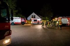 Feuerwehr und Deutsches Rotes Kreuz übten gemeinsam.