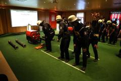 Das Verdener Team in Aktion. (Foto: Marco Sommer)