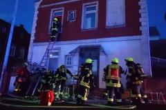 Menschenrettung und Brandbekämpfung waren die gestellten Aufgaben bei der Übung.
