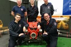 Waren am Samstag für die Feuerwehren der Stadt Verden am Start: Tobias Jachmann, Patrick Feuße, Daniel Teubert, Steffen Wortmann und Torben Voigt (von links)