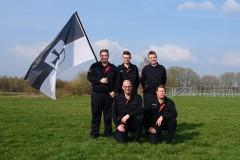 Waren am Samstag für die Feuerwehr Verden am Start: Daniel Wrede, Steffen Wortmann, Patrick Feuße, Torben Voigt und Michael Knoop (von links).