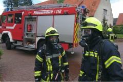 Küchenbrand, Tannenweg, Verden