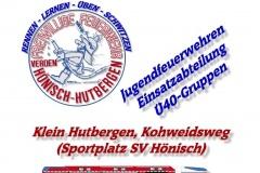 Flyer zum Stadtfeuerwehrtag.