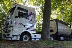 Der Tankwagen der Firmen Oehlrich und M&S Logistics.