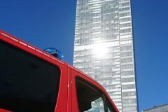 Austragungsort des Wettbewerbs, der Kölnturm.