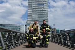 In Köln am Start: Henrik Schröder, Alexander Mähler, Mirko Bremer und Torben Voigt (von links oben).