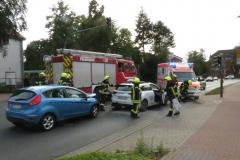 Die Unfallstelle an der Lindhooper Straße.