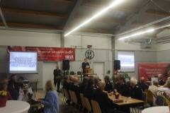 Großer Festkommers am Freitagabend anlässlich des 75-jährigen Jubiläums der Dauelser Ortsfeuerwehr.