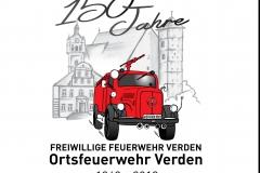 """Besonderer Höhepunkt des Festkommers war die Vorstellung der Chronik """"150 Jahre Ortsfeuerwehr Verden – Chronik einer Ortsfeuerwehr im Wandel der Zeit""""."""