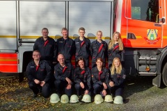 Die beiden Verdener Teams beim Kuppelwettbewerb in Hamburg-Moorwerder.