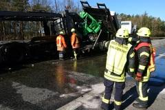 Hilfeleistungen wie beispielsweise dieser Verkehrsunfall auf der Autobahn machen mit 44% den Löwenanteil der Einsätze im vergangenen Berichtsjahr aus.
