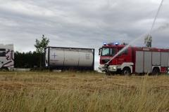 Erneut stand den Feuerwehren des Landkreises Verden in den trockenen Sommermonaten ein Tankcontainer samt Sattelauflieger und Zugmaschine zur Verfügung.