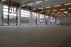 29.02.2020 - Blick in die Fahrzeughalle.
