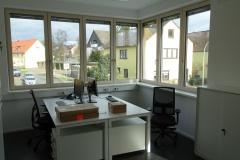 29.02.2020 - Blick in eines der Büros.