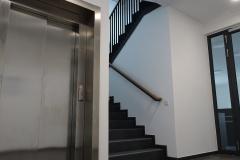 29.02.2020 - Blick in das Treppenhaus.
