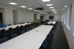 06.03.2020 - Blick in den neu eingerichteten Unterrichts- und Tagungsraum.