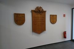 07.03.2020 - Im Eingangsbereich des Neubaus.