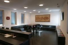 07.03.2020 - Der Bereitschaftsraum im Erdgeschoss des Neubaus.