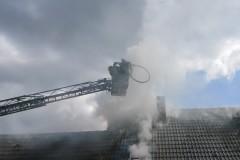 Gebäudebrand in Haberloh.