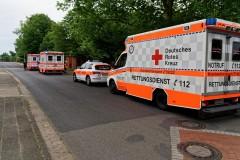 Nach einem gemeldeten Wohnungsbrand am Samstagnachmittag in Verden konnte schnell Entwarnung gegeben werden.