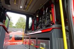 Der Innenraum des neuen LF 10.
