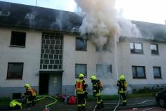 April 2020: Zimmerbrand in der Lessingstraße, einer von 180 Einsätzen im vergangenen Berichtsjahr.