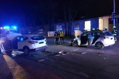 Verkehrsunfall zwischen zwei PKW auf der Lindhooper Straße